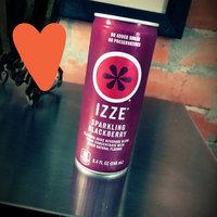 Izze Fortified Juice Sparkling Blackberry uploaded by Savannah N.