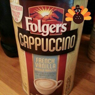 Photo of Folgers® Cappuccino French Vanilla Instant Coffee Beverage uploaded by Kimberly M.
