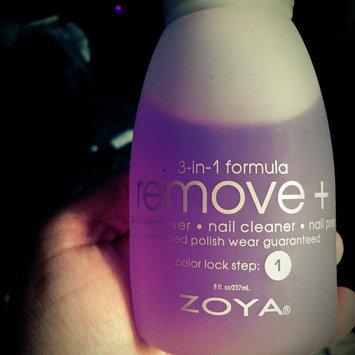 Photo of Zoya Remove Plus Nail Polish Remover uploaded by Christina M.
