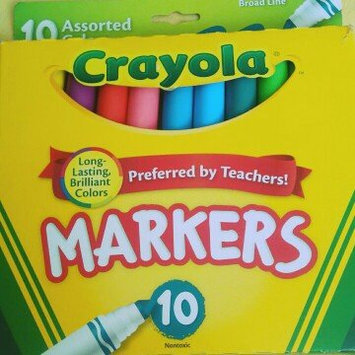 Photo of Crayola 10ct Broad Markers - Assorted Colors uploaded by Ines G.