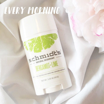 Schmidt's Bergamot + Lime Natural Deodorant uploaded by Vanna L.