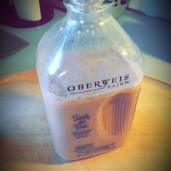 Oberweis Dairy 2% Reduced Fat Milk Chocolate uploaded by Natalie M.
