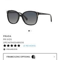 Prada PR 12QS - Black / Grey Gradient (1AB0A7) uploaded by Sarah D.