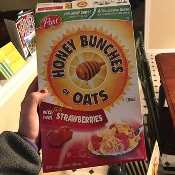 Photo of Post Foods, LLC HNY BNCH OAT STRWBRY 16.5OZ uploaded by Tori G.
