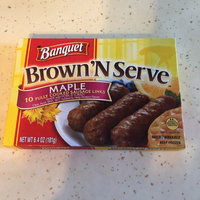 Banquet Brown'N Serve Sausage Links Maple - 10 CT uploaded by Teiva C.