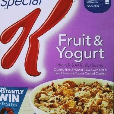 Kellogg's Special K Fruit & Yogurt Cereal uploaded by Mojieanna D.