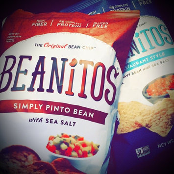 Photo of Beanitos Restaurant Style White Bean Chips with Sea Salt uploaded by Vanessa G.