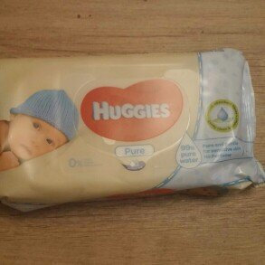 Photo of Huggies® Pure Baby Wipes uploaded by Felicia K.