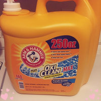 Arm & Hammer™ Fresh Scent Liquid Laundry Detergent Plus OxiClean™ Stain Fighters 122.5 fl. oz. Jug uploaded by Rutsari P.
