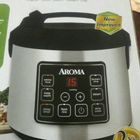 Aroma 20-Cup Fuzzy Logic Programmable Rice Cooker and Steamer, Stainless Steel uploaded by Giselle N.