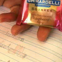 Ghirardelli Chocolate Squares Dark & Raspberry Filled Squares uploaded by Suzanne G.