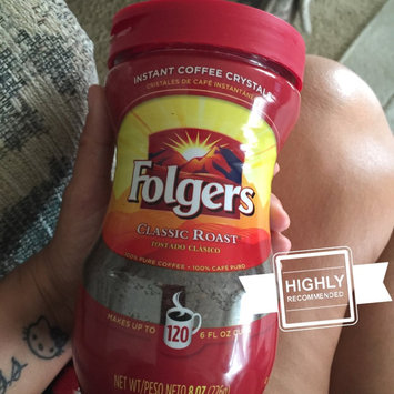 Photo of Folgers Classic Roast Instant Coffee Crystals uploaded by Wendy C.