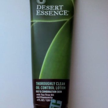 Desert Essence Thoroughly Clean Oil Control Lotion uploaded by Rebecca N.
