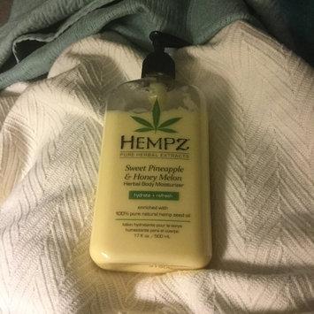 Hempz Sweet Pineapple & Honey Melon Moisturizer uploaded by ML T.