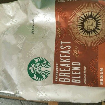 Photo of Starbucks® Breakfast Blend Medium Roast Ground Coffee uploaded by Amanda M.
