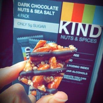 KIND® 4-Pack Dark Chocolate Nuts & Sea Salt 4-1.4 oz. Bars uploaded by Wendy M.