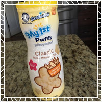 Gerber® Graduates® My 1st™ Puffs Classic Puffed Grain Snack 1.48 oz. Canister uploaded by Amber Z.