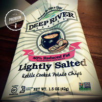 Deep River Snacks Kettle Chips, 40% Reduced Fat Lightly Salted, 1.5 Ounce Bags (Pack of 24) uploaded by Aydin A.