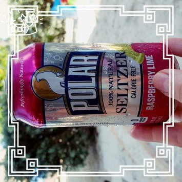 Photo of Polar Seltzer Calorie-free Raspberry Lime uploaded by Magan C.