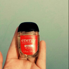 Photo of Bath & Body Works® PocketBac Energy Orange Ginger Hand Gel uploaded by Michelle W.