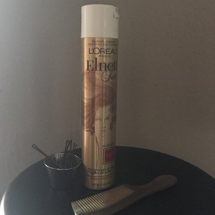 L'Oréal Elnett Satin Hairspray uploaded by Abby G.