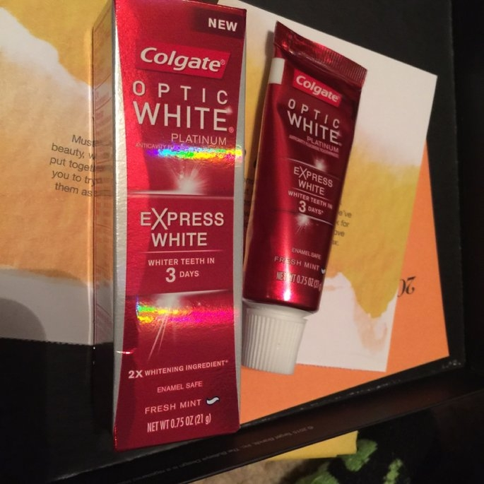 Colgate Optic White Express White Toothpaste uploaded by Danielle S.