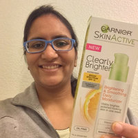 Garnier® Skin Active™ Clearly Brighter™ Brightening & Smoothing Daily Moisturizer with Broad Spectrum SPF 15 uploaded by shilpa l.