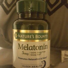 Nature's Bounty Melatonin Super Strength 5mg Sleep Aid Dietary Suppelement Rapid Release Liquid Softgels - 60 CT uploaded by Lola M.