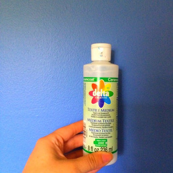 Photo of Delta Ceramcoat Painters Helper Textile Medium - Eight Ounces uploaded by Sara S.