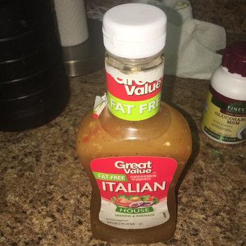 Photo of Great Value Fat Free Italian Dressing, 16 fl oz uploaded by Valenna P.