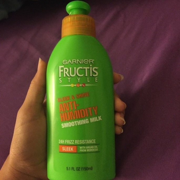 Garnier Fructis Style Sleek & Shine Anti-Humidity Smoothing Milk uploaded by Deleted D.