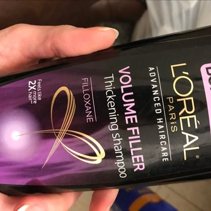 L'Oréal Paris Advanced Haircare Volume Filler Thickening Shampoo, 12. uploaded by Kendra H.