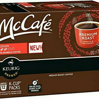 Photo of McCafe 100% Arabica Coffee Medium K-Cup Packs - 12 CT uploaded by Alison G.