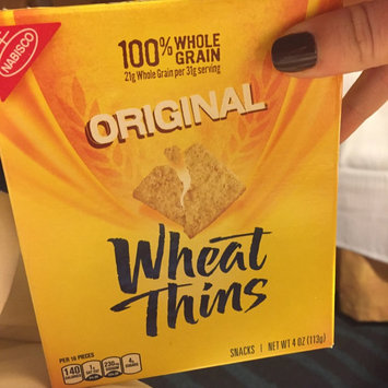 Photo of Nabisco Wheat Thins Original Crackers uploaded by Bri C.