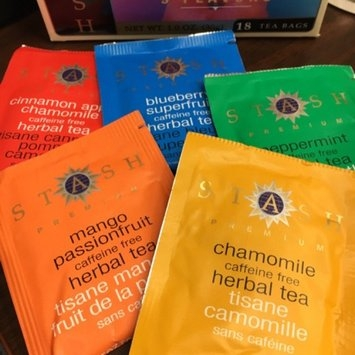 Stash Caffeine Free Herbal Tea Bags Herbal Tea Sampler - 18 CT uploaded by Mary R.