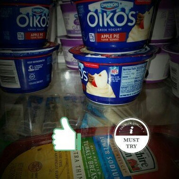 Dannon Oikos Single Serve Greek Yogurt Apple Pie Traditional 5.3 Oz Cup uploaded by Sabrina P.