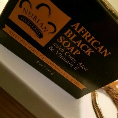 Nubian Heritage African Black Soap uploaded by Sorrae A.
