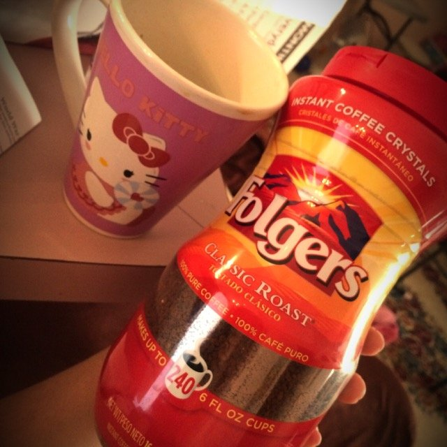 Folgers Classic Roast Instant Coffee 16 Oz Plastic Jar uploaded by Brieanne B.