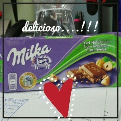 Milka Milk Chocolate with Chopped Hazelnuts (HASELNUSS), 3.52-Ounce Bars (Pack of 20) uploaded by Milagros Q.
