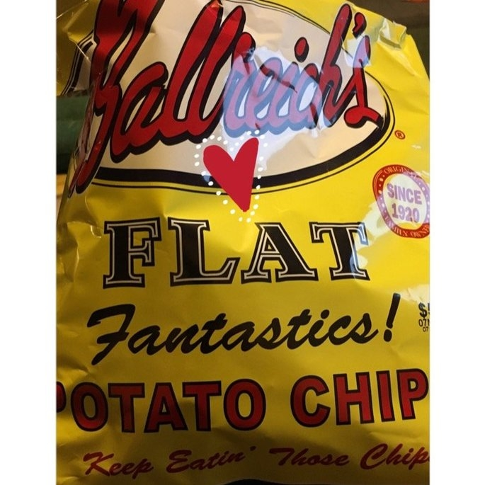 Ballreich Flat Potato Chips 16 Oz uploaded by Léage Marie M.