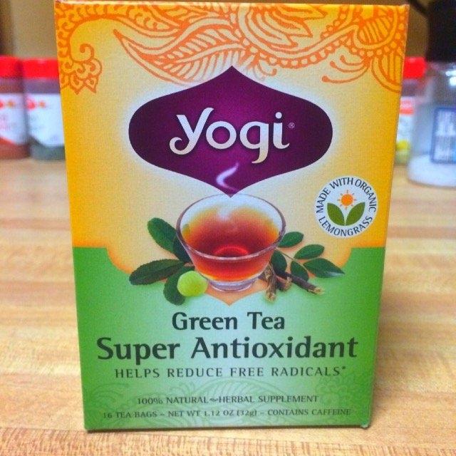 Yogi Tea Green Tea Super Antioxidant uploaded by Ann K.