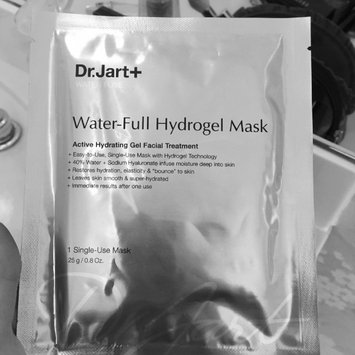 Photo of Dr. Jart+ Water Fuse Water-Full Hydrogel Mask uploaded by Aimee M.