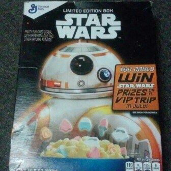 General Mills Star Wars 10.5 oz uploaded by exzor l.