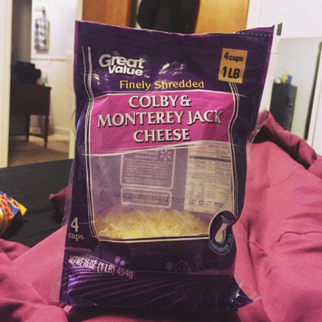 Great Value Finely Shredded Colby & Monterey Jack Cheese, 16 oz uploaded by Storm B.