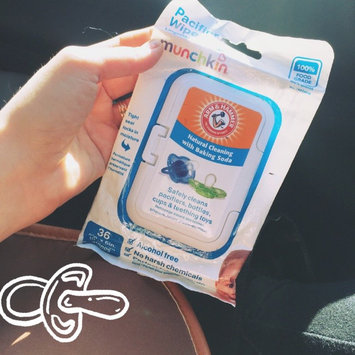 Photo of Munchkin Arm & Hammer Pacifier Wipes uploaded by Taylor A.