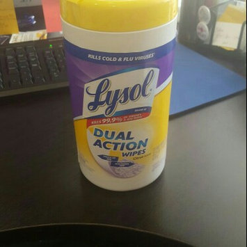 Lysol Dual Action Disinfecting Wipes uploaded by Layla J.