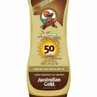 Australian Gold Moisture Max Exotic Blend Very Water Resistant Sunscreen with Instant Bronzer SPF 50 uploaded by Goldie R.
