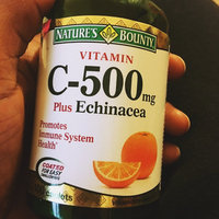 Nature's Bounty Vitamin C-500 mg Tablets - 100 CT uploaded by Zax L.