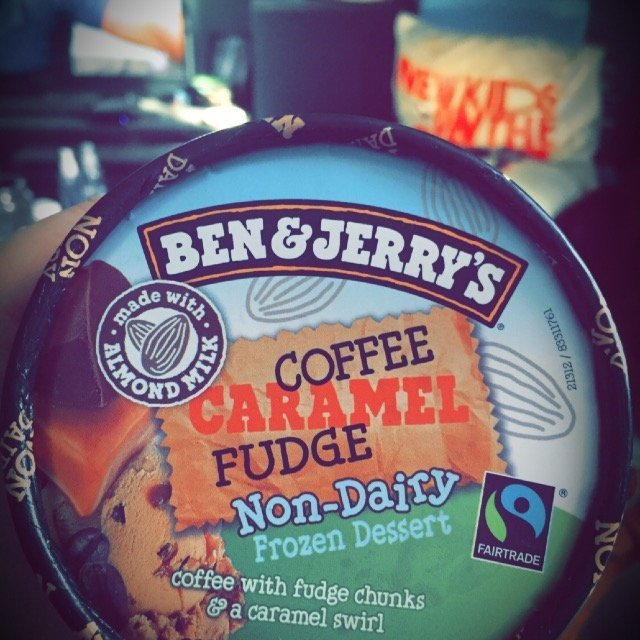 Ben & Jerry's® Coffee Caramel Fudge Non-Dairy Frozen Dessert uploaded by Jillian S.