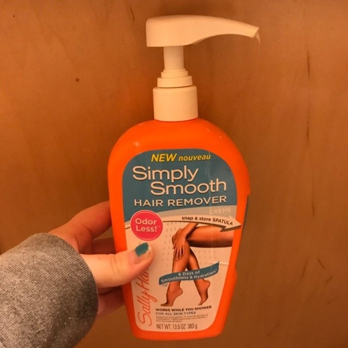 Sally Hansen Simply Smooth Hair Remover Cr me uploaded by Isabell B.